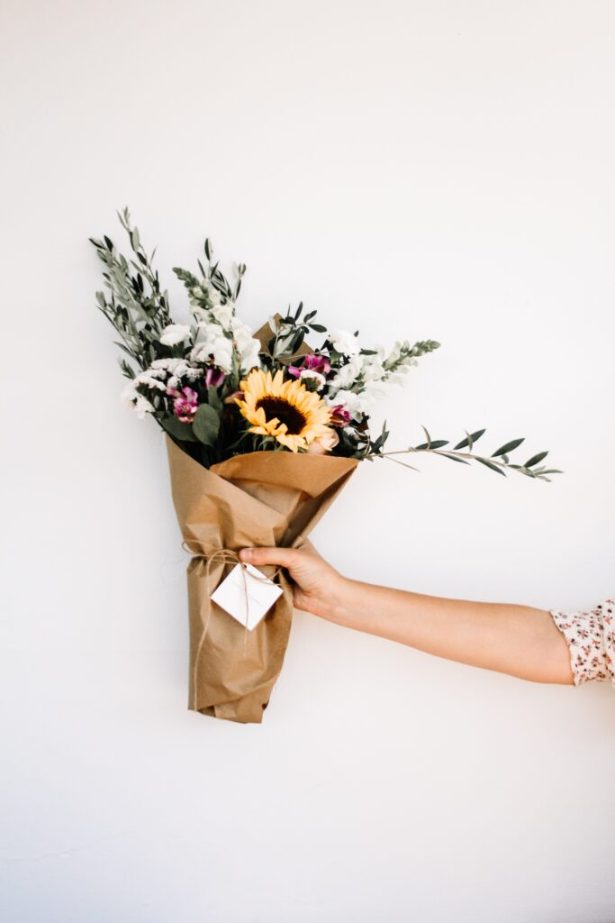 Appreciative gestures can be made in person as well as publicly